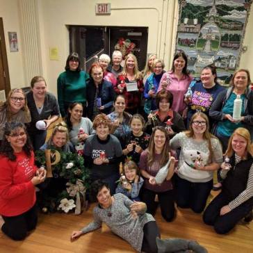 Women's Christmas Craft Night 2016