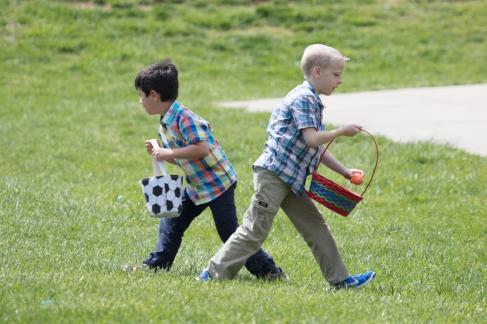 church easter egg hunt-24