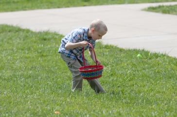 church easter egg hunt-25