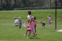 church easter egg hunt-30