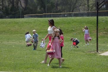 church easter egg hunt-30