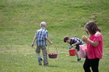 church easter egg hunt-31