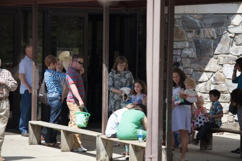 church easter egg hunt-4