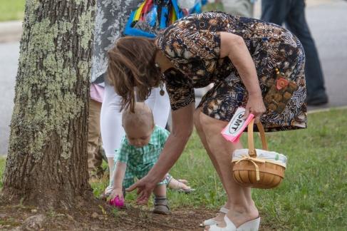 church easter egg hunt-53